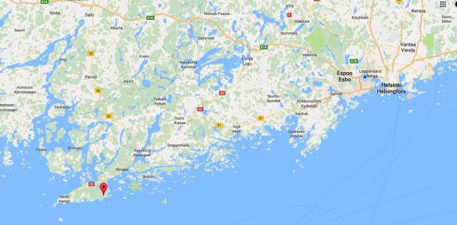 Helsinki-Syndalen-kartta